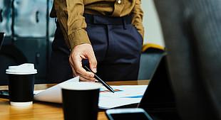 Woman pen CSOP financing